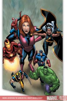 Marvel Adventures the Avengers Vol. 6: Mighty Marvels (Digest)