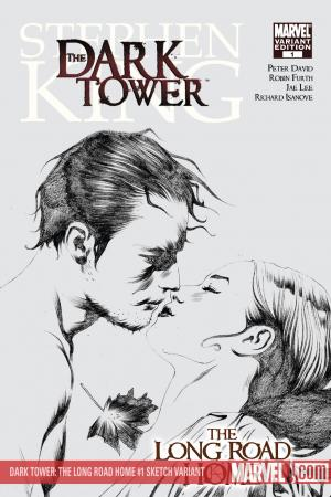 Dark Tower: The Long Road Home (2008) #1 (SKETCH VARIANT)