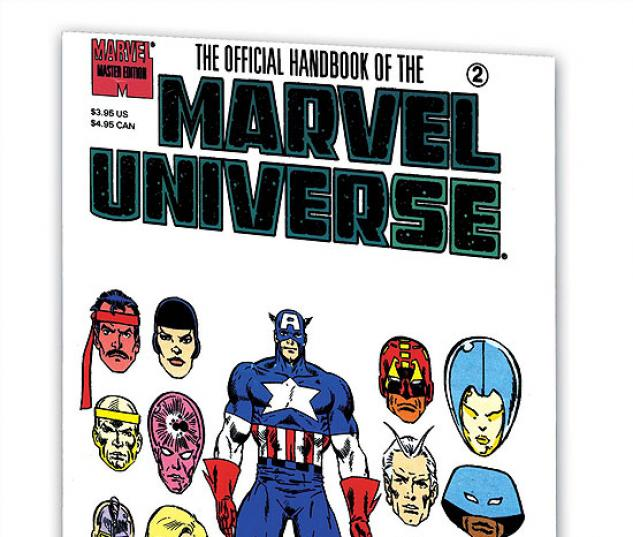 ESSENTIAL OFFICIAL HANDBOOK OF THE MARVEL UNIVERSE - MASTER EDITION VOL. 1 #0