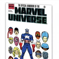 Essential Official Handbook of the Marvel Universe - Master Edition Vol. 1
