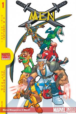 MARVEL MANGAVERSE: X-MEN 1 #1