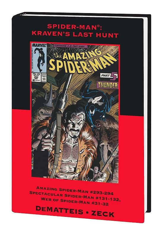 Spider-Man: Kravens Last Hunt Variant (Hardcover)