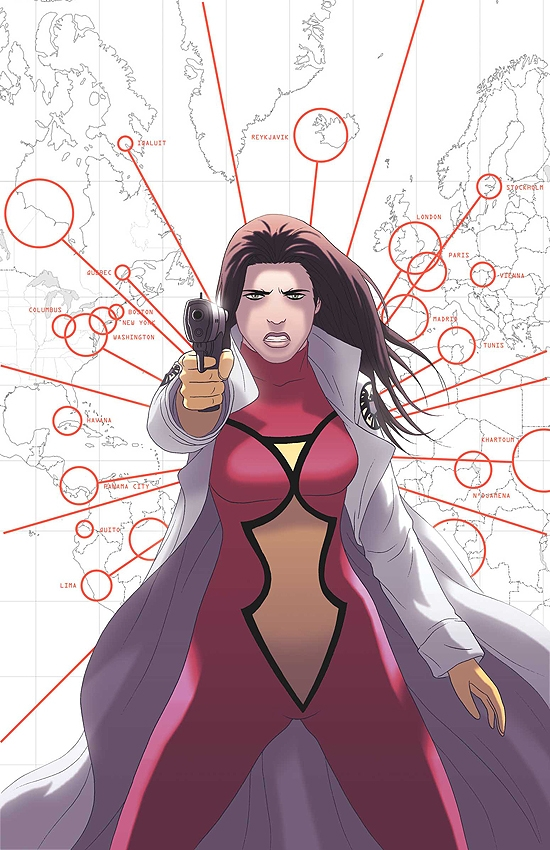 Spider-Woman: Origin (2005) #4