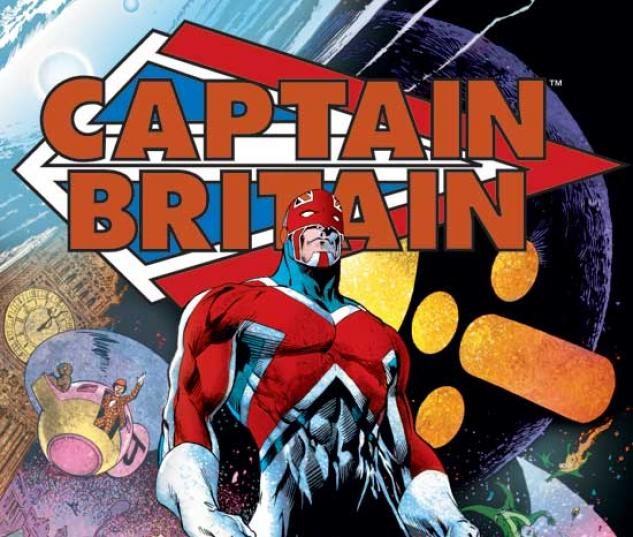 CAPTAIN BRITAIN VOL. I TPB COVER