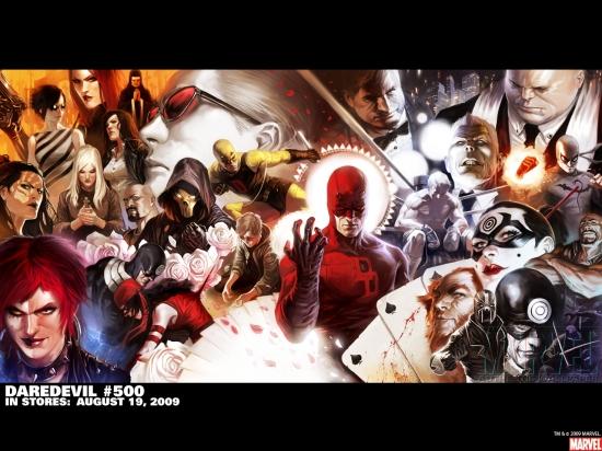 Daredevil (1998) #500 Wallpaper