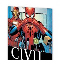 CIVIL WAR: AMAZING SPIDER-MAN COVER