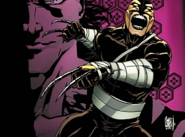 Daken: Dark Wolverine #9.1 cover by Giuseppe Camuncoli