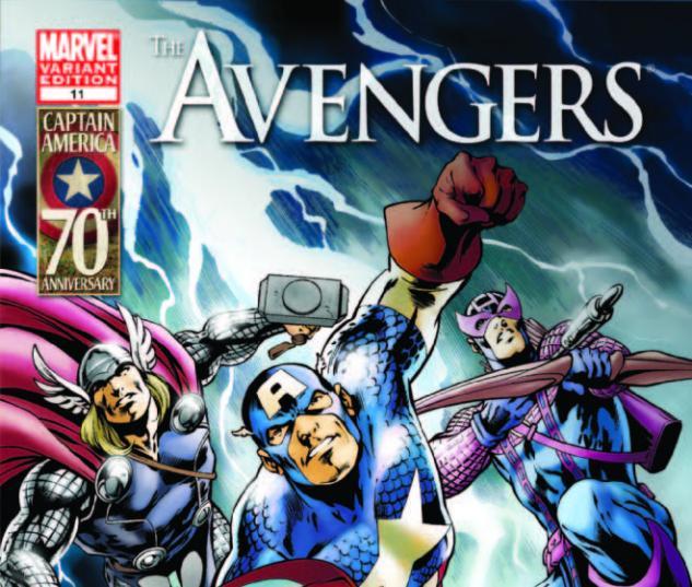 Avengers #11 Captain America 70th Anniversary Variant