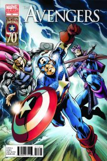 Avengers (2010) #11 (CAPTAIN AMERICA 70TH ANNIVERSARY VARIANT)