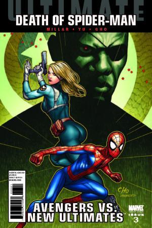 Ultimate Avengers Vs. New Ultimates (2011) #3 (CHO VARIANT)