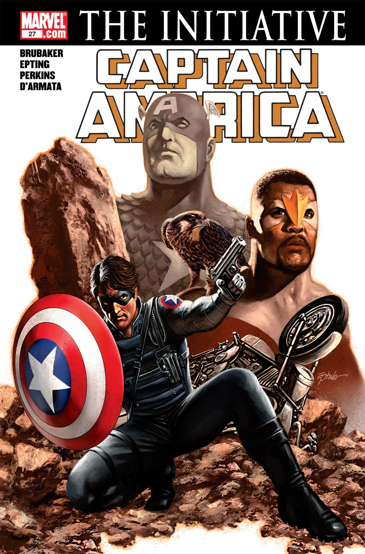Captain America (2004) #27