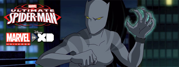 White Tiger Ultimate Spider Man Kiss