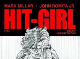 HIT-GIRL 2 JRJR SKETCH VARIANT (1 FOR 25)