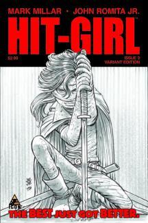 Hit-Girl #2  (Jrjr Sketch Variant)
