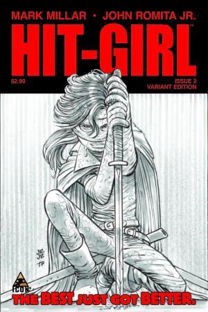 Hit-Girl (2012) #2 (Jrjr Sketch Variant)