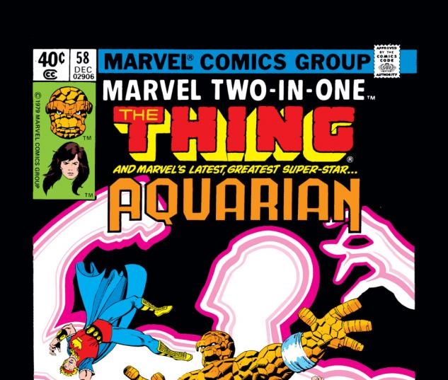 Marvel Two-in-One (1974) #58 Cover