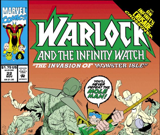 Warlock and the Infinity Watch (1992) #22 Cover