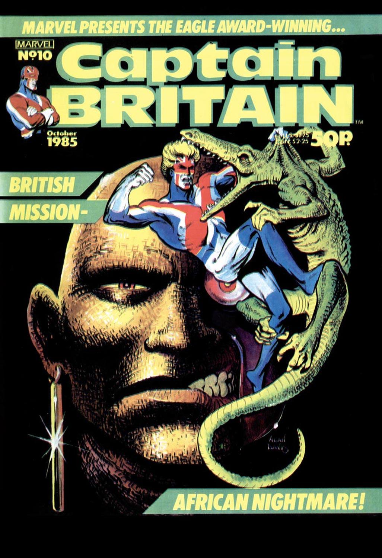 Captain Britain (1985) #10
