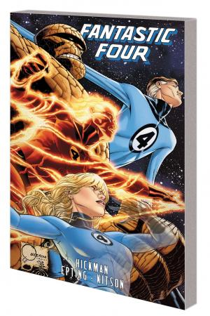 FANTASTIC FOUR BY JONATHAN HICKMAN VOL. 5 TPB  (Trade Paperback)