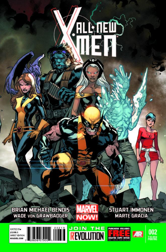 All-New X-Men (2012) #2 (3rd Printing Variant)