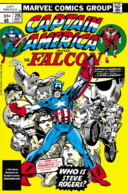 Captain America (1968) #215