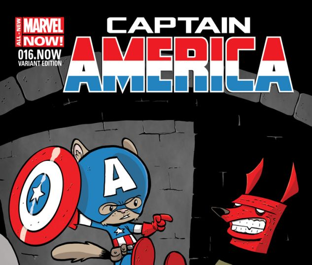 CAPTAIN AMERICA 16.NOW ELIOPOULOS ANIMAL VARIANT (ANMN, WITH DIGITAL CODE)