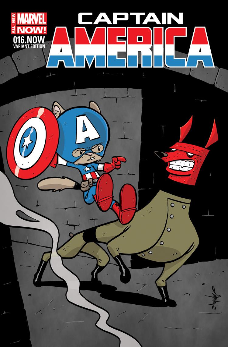 Captain America (2012) #16 (Eliopoulos Animal Variant)