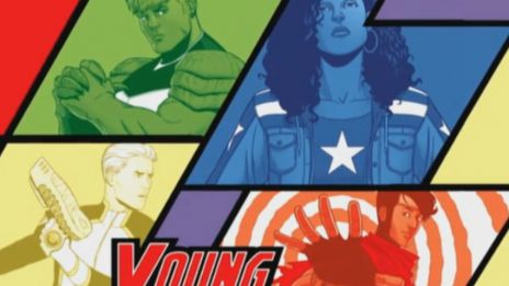 Marvel AR: Young Avengers #1 Cover Recap