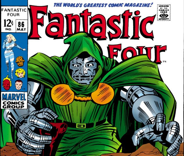 Fantastic Four (1961) #86 Cover
