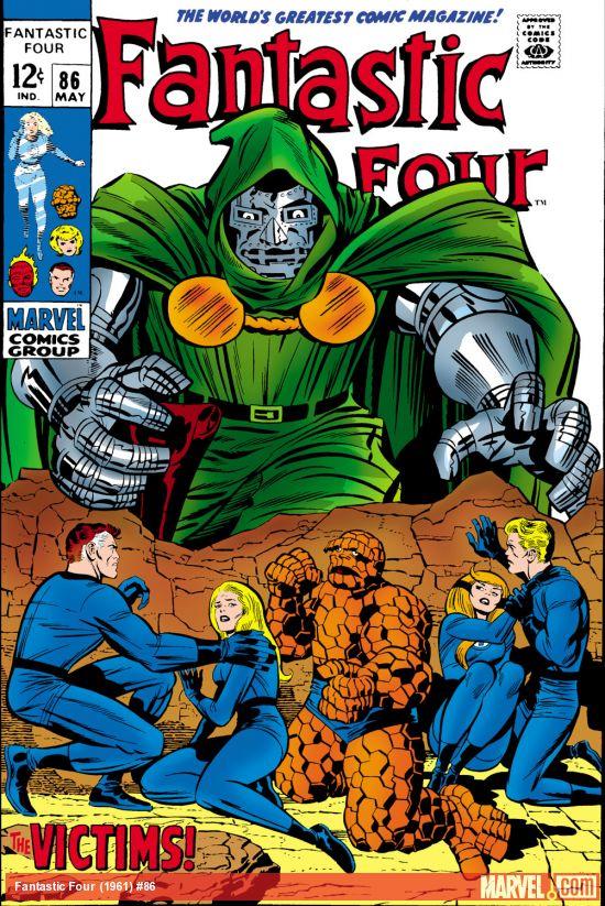 Fantastic Four (1961) #86