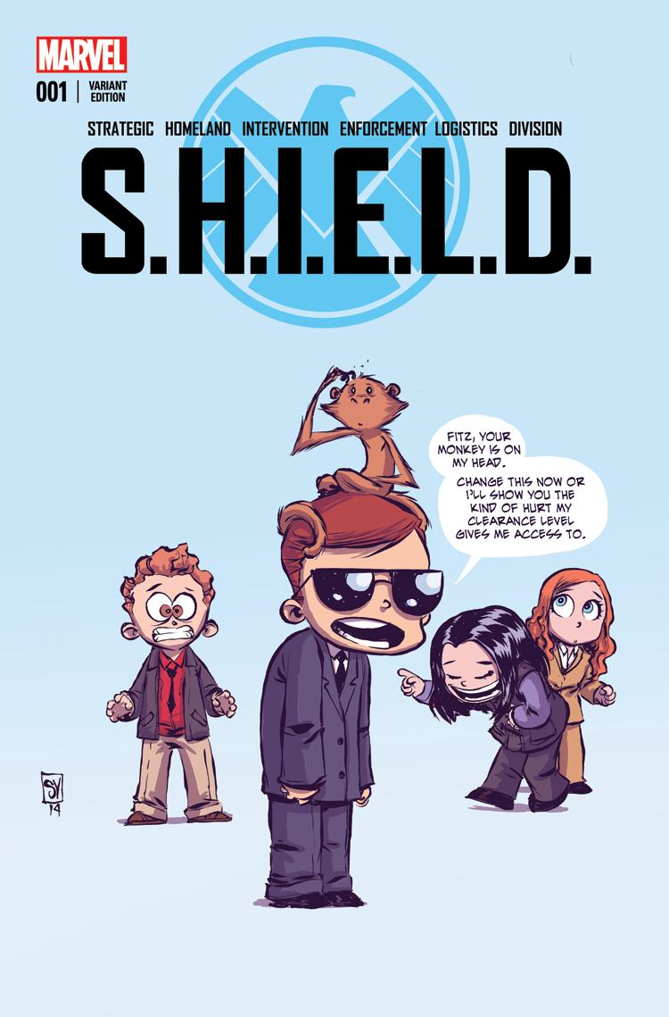 S.H.I.E.L.D. (2014) #1 (Young Variant)