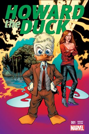 Howard the Duck (2015) #1 (Mayerik Variant)