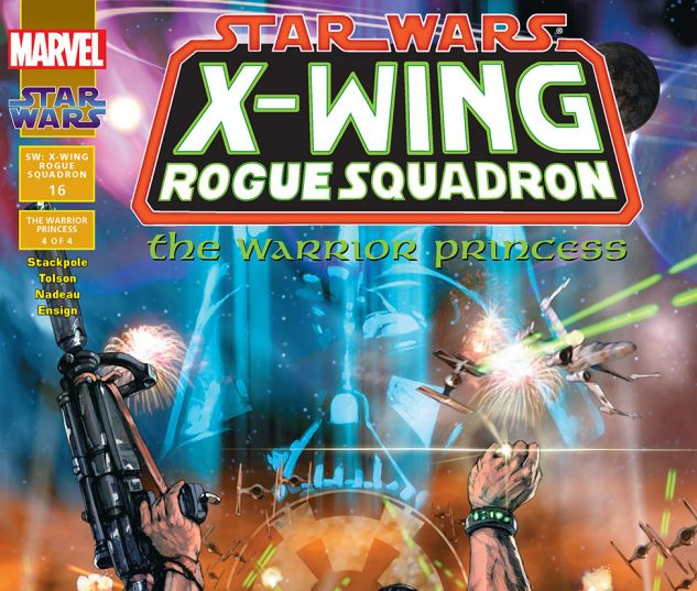 Star Wars: X-Wing Rogue Squadron (1995) #16