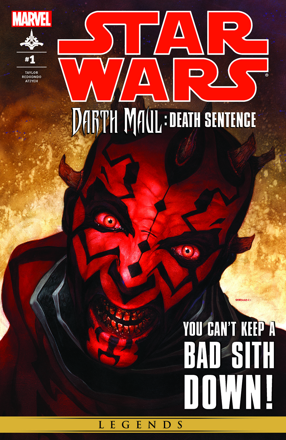 Star Wars: Darth Maul - Death Sentence (2012) #1