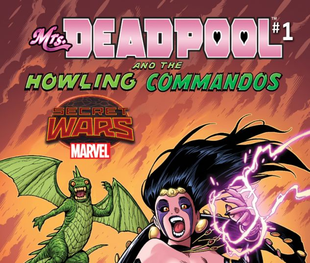 MRS. DEADPOOL AND THE HOWLING COMMANDOS 1 WARREN VARIANT (SW, WITH DIGITAL CODE)