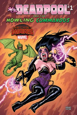 Mrs. Deadpool and the Howling Commandos (2015) #1 (Warren Variant)