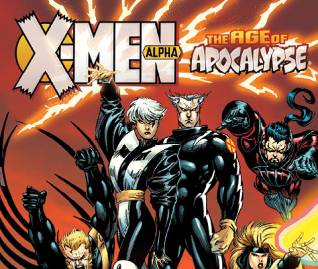 cover from X-Men: Age of Apocalypse - Alpha (2015)