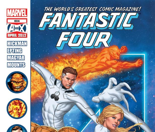 FANTASTIC FOUR (1998) #604 Cover