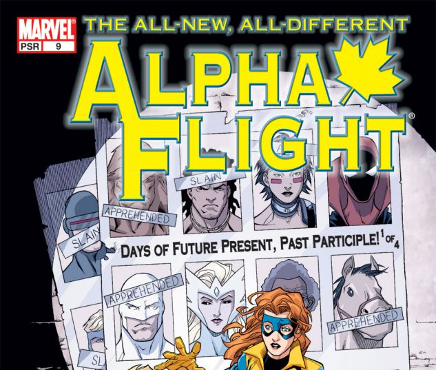 ALPHA FLIGHT (2004) #9 Cover
