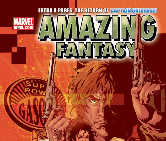 AMAZING FANTASY (2004) #13 Cover
