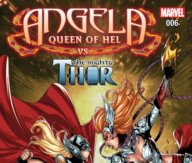 ANGELA: QUEEN OF HEL (2015) #6 Cover