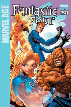 Marvel Age Fantastic Four #9