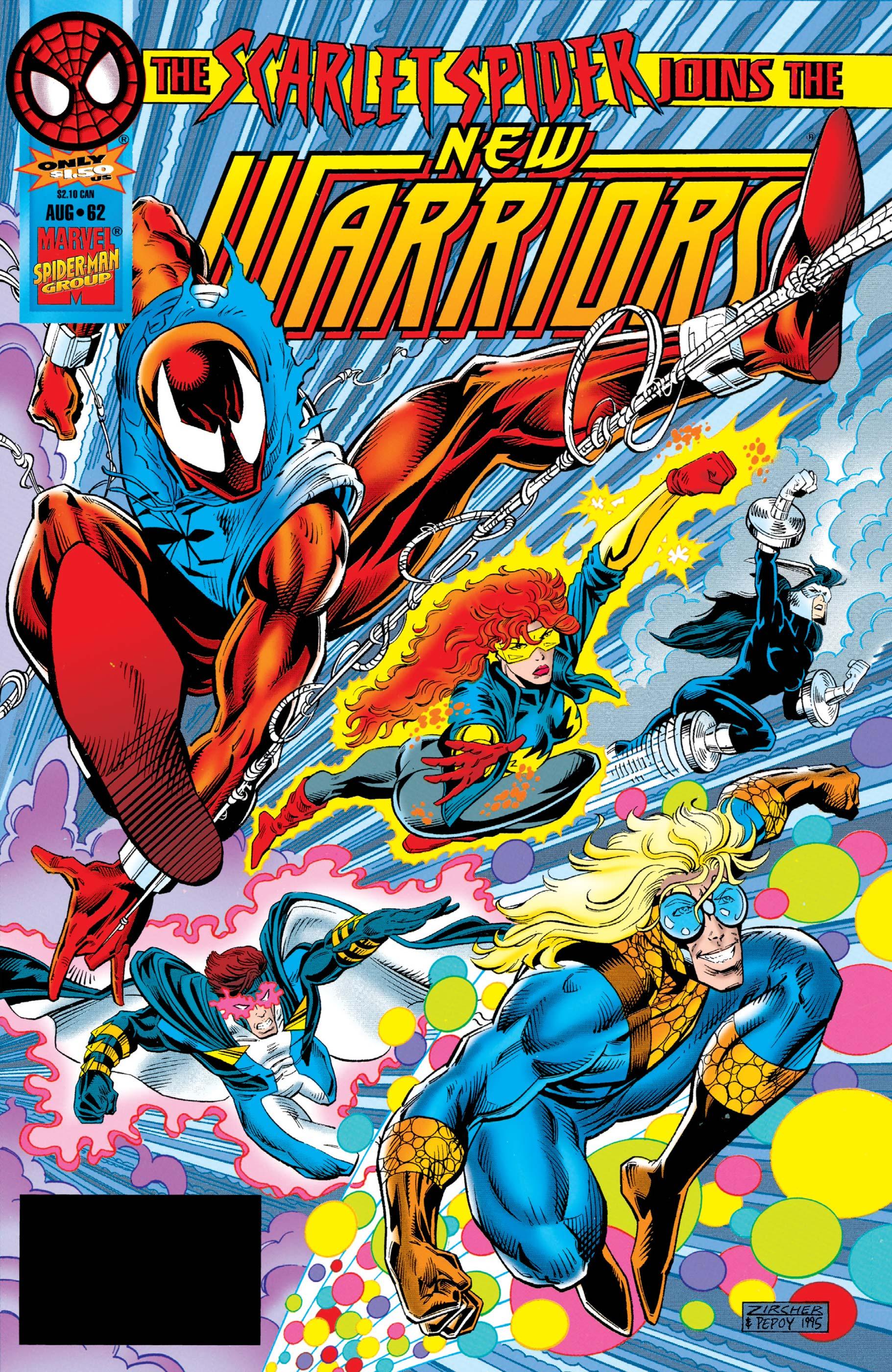 New Warriors (1990) #62