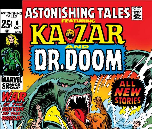 ASTONISHING TALES (1970) #8