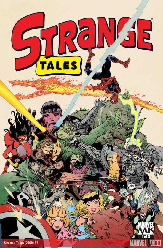 Strange Tales (2009) #1
