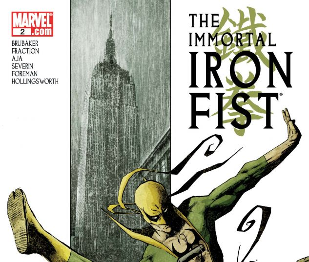 Immortal Iron Fist (2006) #2