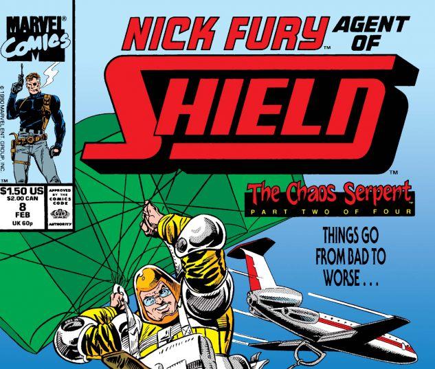Nick Fury, Agent of Shield (1989) #8