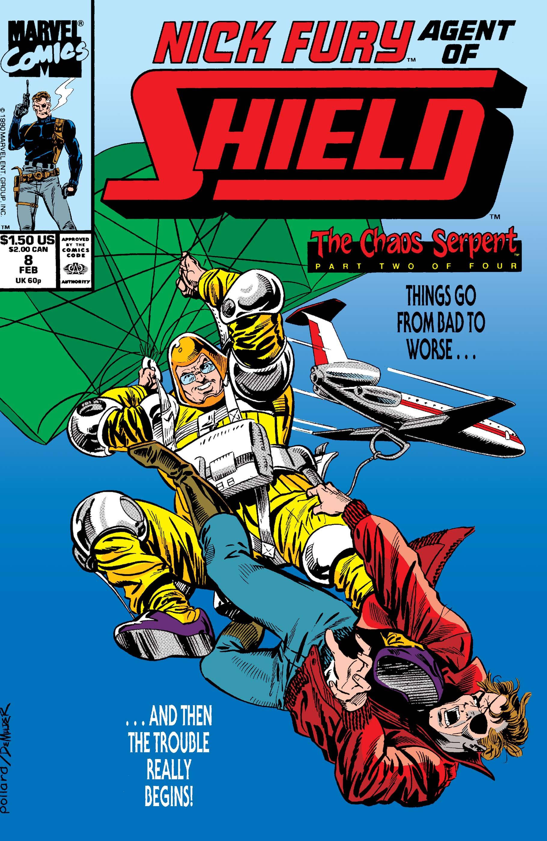 Nick Fury, Agent of S.H.I.E.L.D. (1989) #8