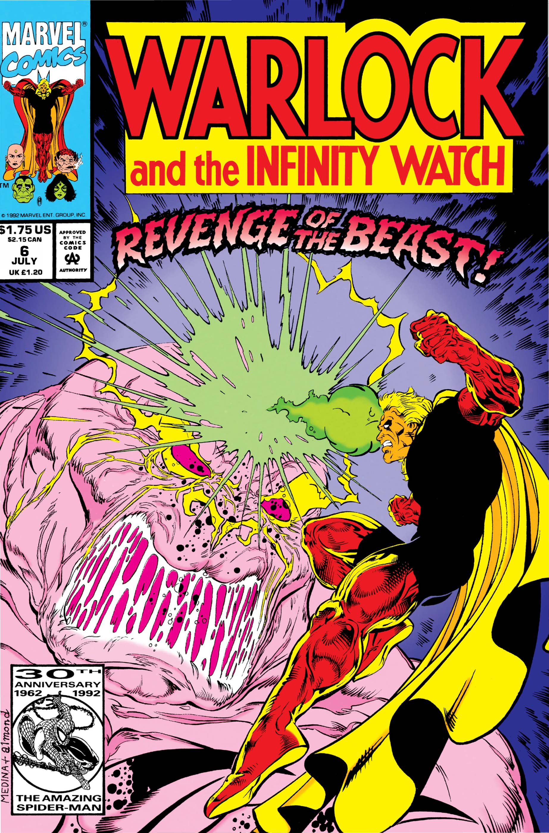 Warlock and the Infinity Watch (1992) #6