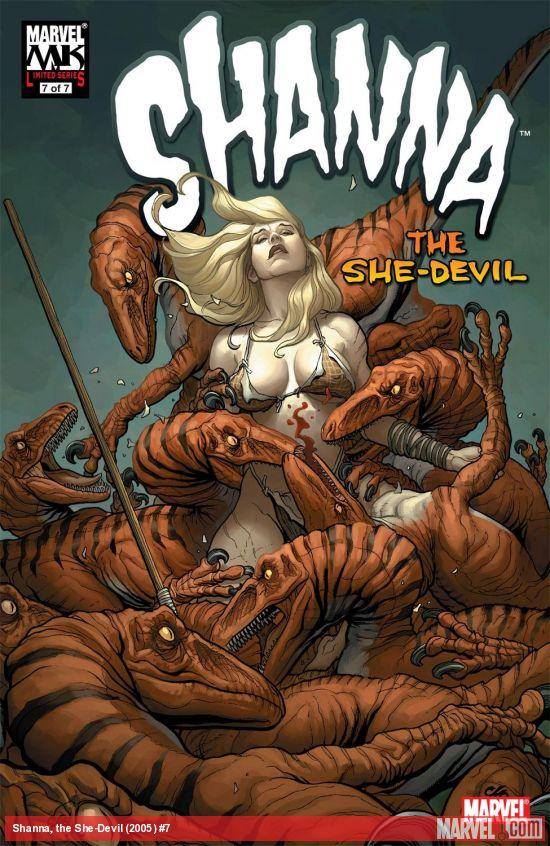 Shanna, the She-Devil (2005) #7